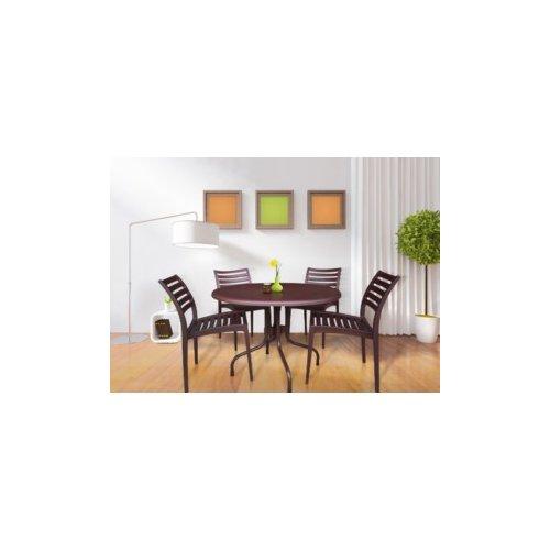 kirton chair accessories recliner parts ebern designs commercial grade 5 piece dining set walmart com