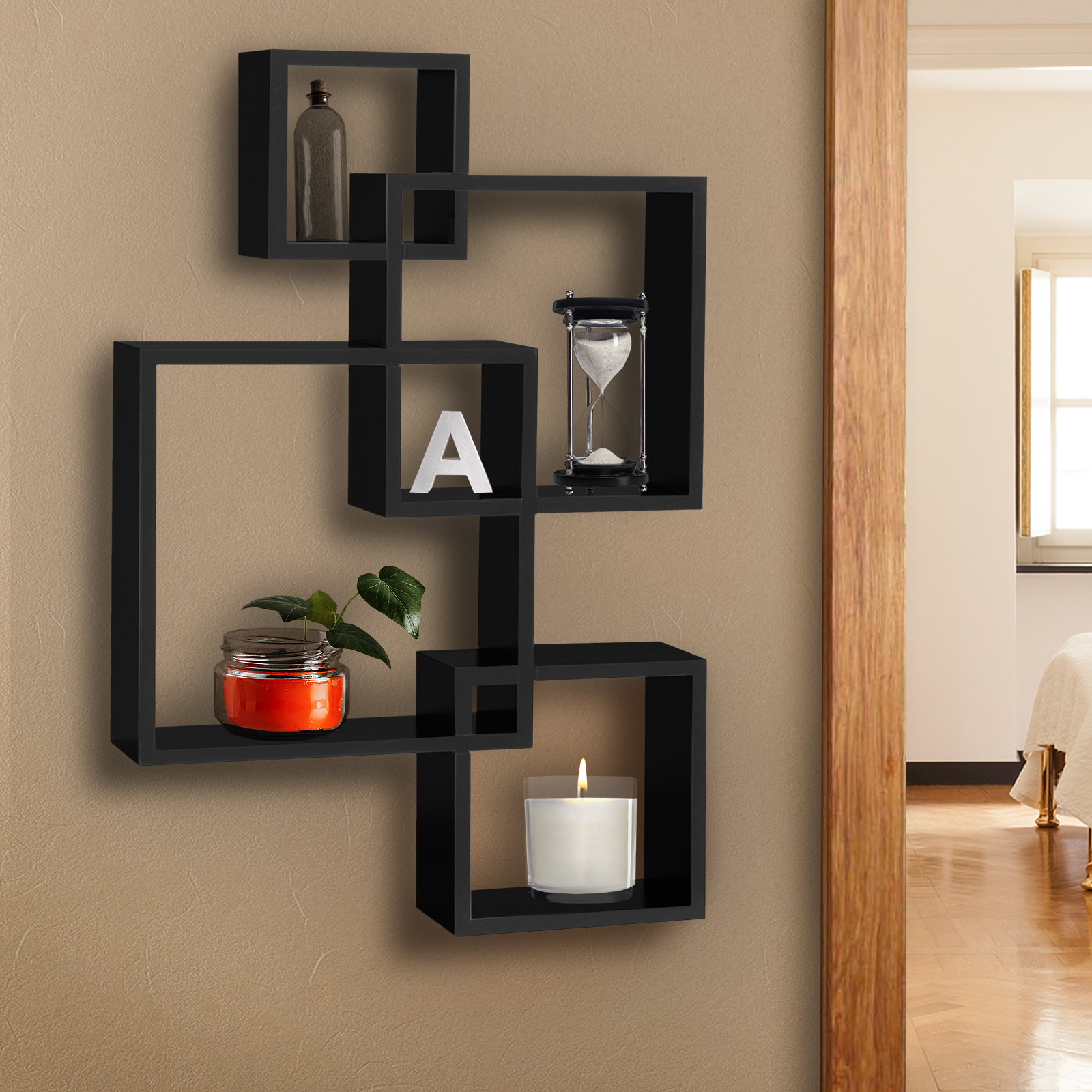 Best Choice Products Wall Mounted Floating Shelf