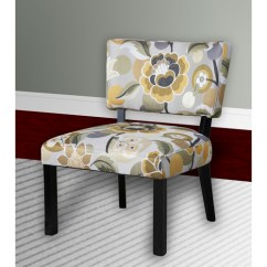 Floral Print Accent Chairs Dining Room Chair Seat Covers Waterproof Multiple Colors Walmart Com