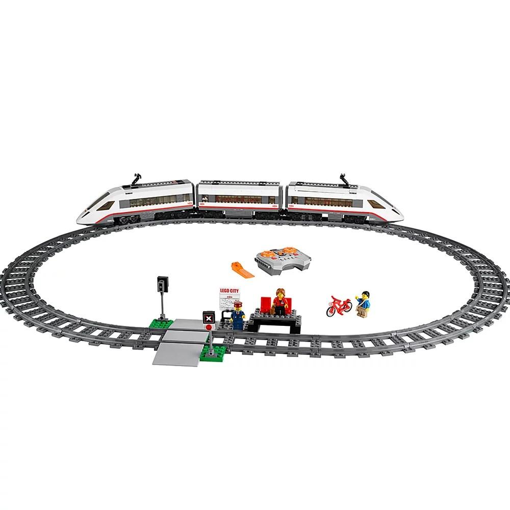 LEGO City Trains High-speed Passenger Train 60051