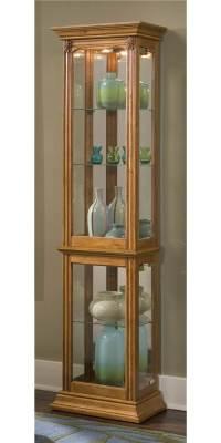 Curio Cabinet w Adjustable Shelves