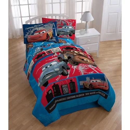 Disney Pixar Cars 2 Twin/Full Bedding Comforter