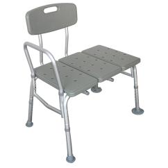 Transfer Shower Chair Outdoor Cafe Table And Chairs Ktaxon Plastic Tub Bench With Adjustable Backrest Gray Walmart Com