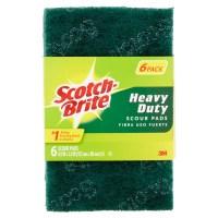 Scotch-Brite Heavy Duty Scour Pads, 6pk - Walmart.com