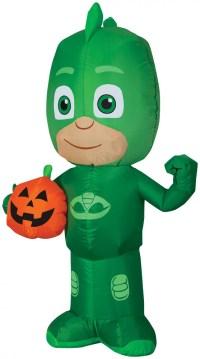PJ Mask Gekko Jack-O-Lantern Airblown Halloween Decoration ...