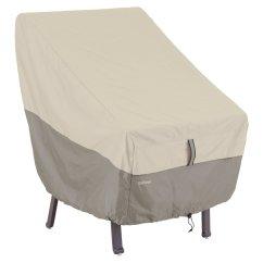 High Back Chair Patio Furniture Wheel Basketball Classic Accessories Belltown Storage Cover Sidewalk Grey Walmart Com