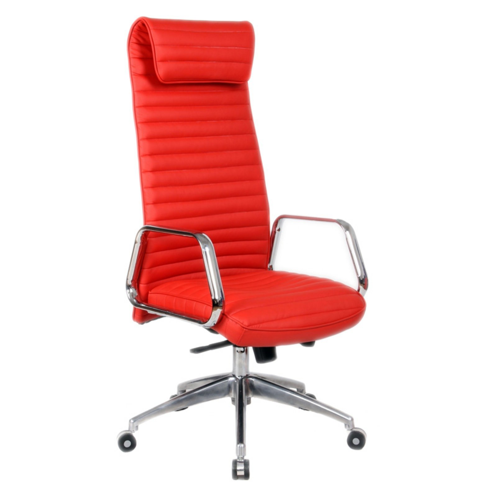 Red High Chair Fine Mod Imports Ox Office Chair High Back Red Walmart