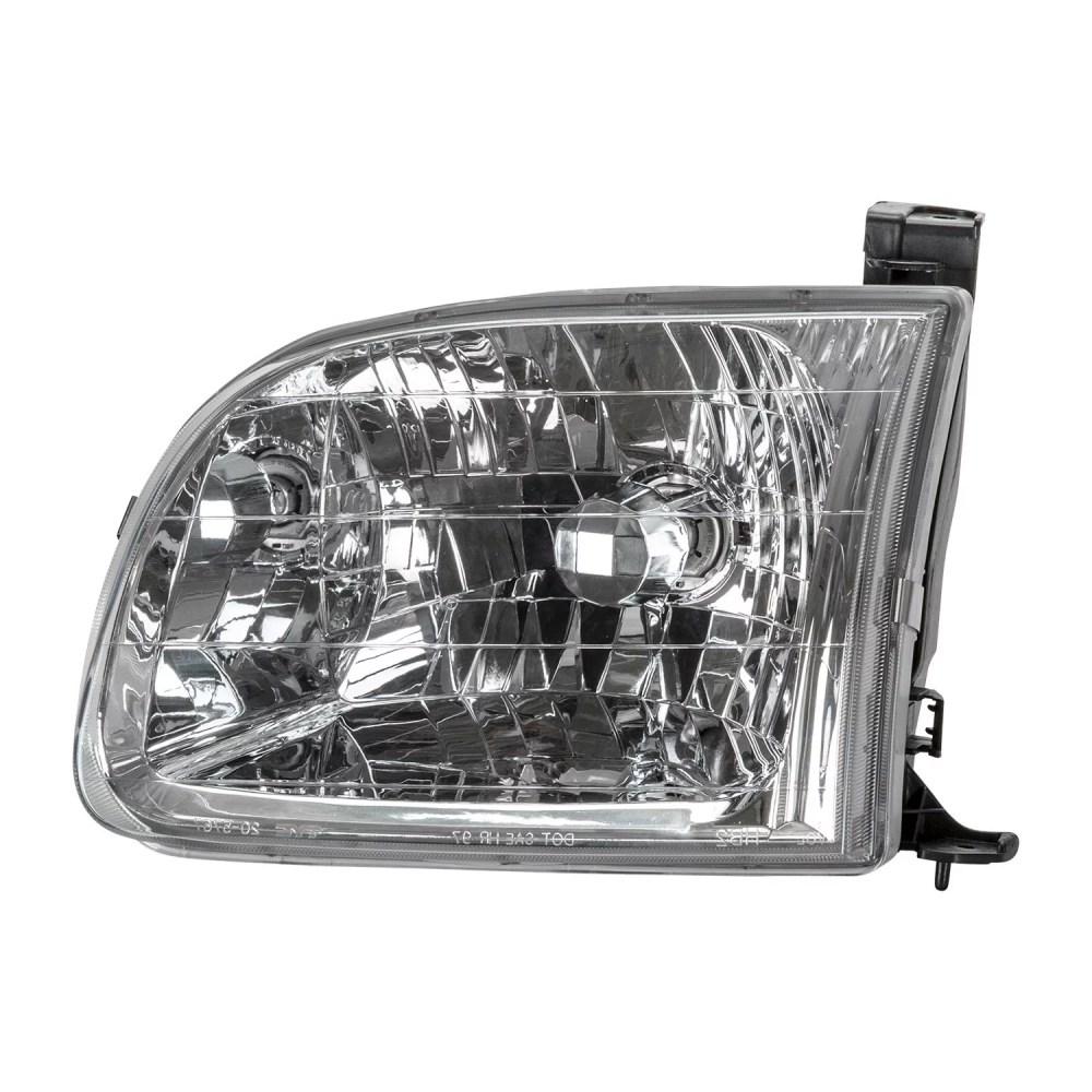 medium resolution of tyc 20 5768 00 1 left headlight assembly for 2000 2004 toyota tundra to2502129 walmart com