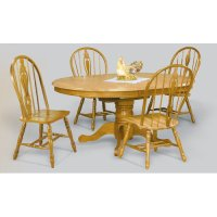 Sunset Trading 48 Inch Round Dining Table with Butterfly ...