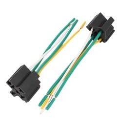 dc 12v 24v 40a cross type 4 pin car relay socket harness connector 5pcs [ 1100 x 1100 Pixel ]