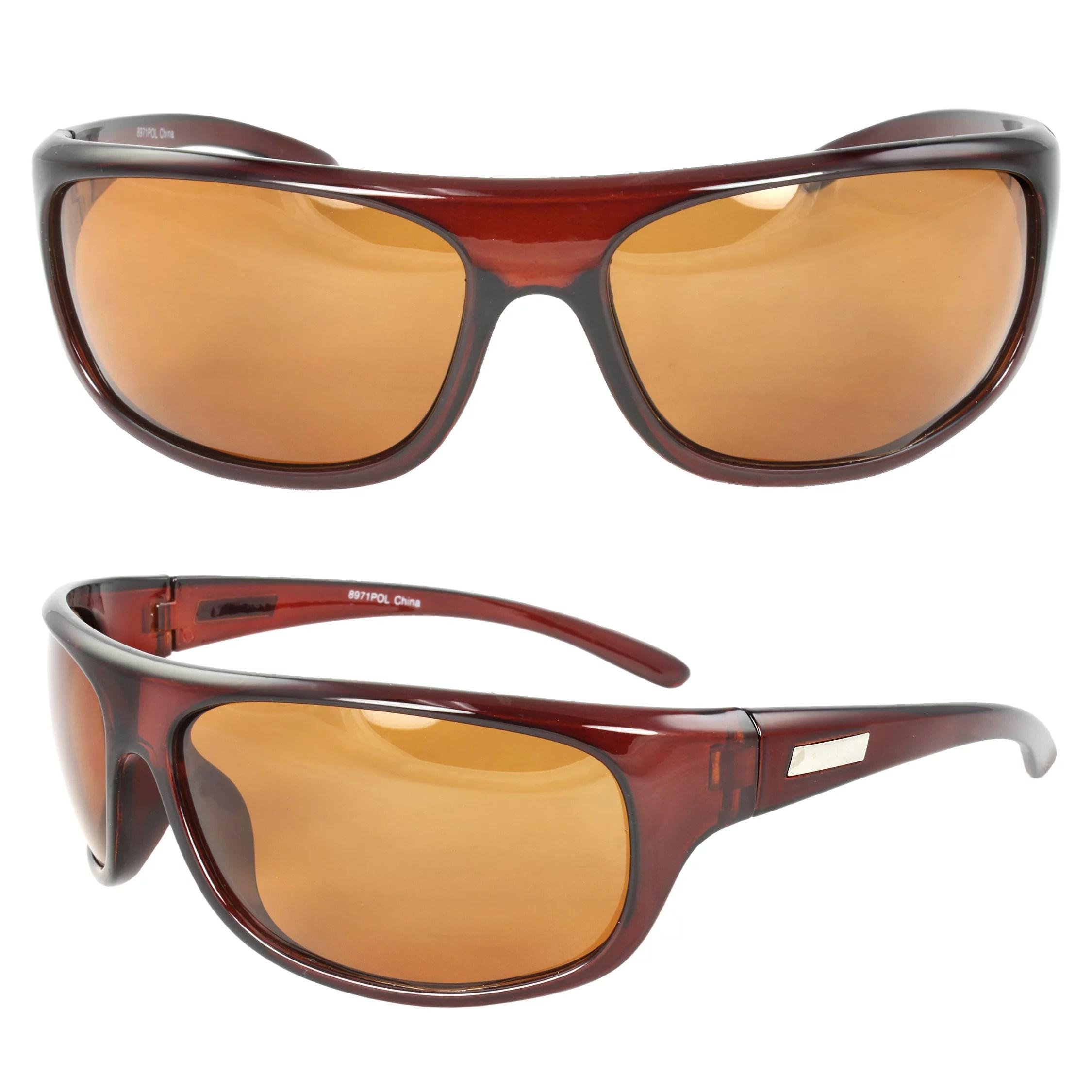 MLC Eyewear - Polarized Wrap Around Fashion Sunglasses ...