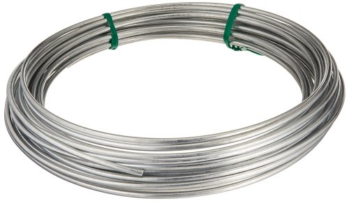small resolution of 122062 galvanized solid utility wire 9 gauge 50 foot coil multi purpose wire ideal for workshop garden house and farm applications by hillman