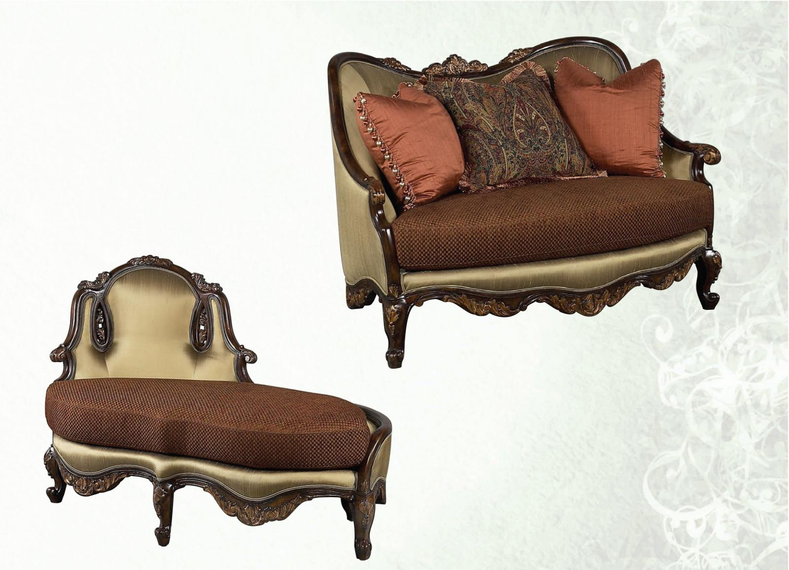 Lounge Chair And A Half Benetti Abrianna Chenille Luxury Chair And A Half Chaise