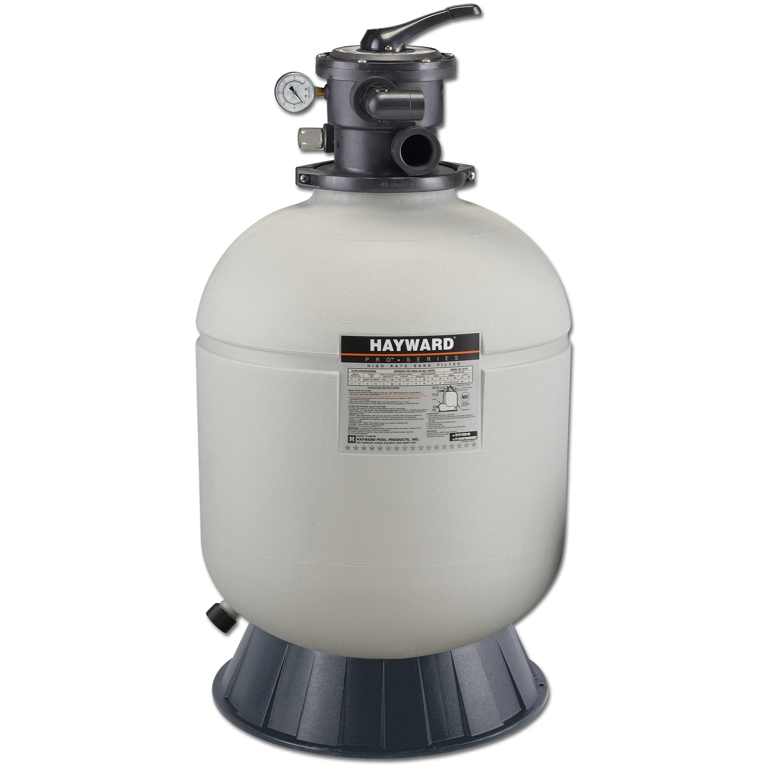 Hayward Pro Series 16 Inch Above Ground Pool Sand Filter