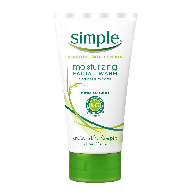 Simple Moisturizing Facial Wash 5 Fl Oz - Walmart.com