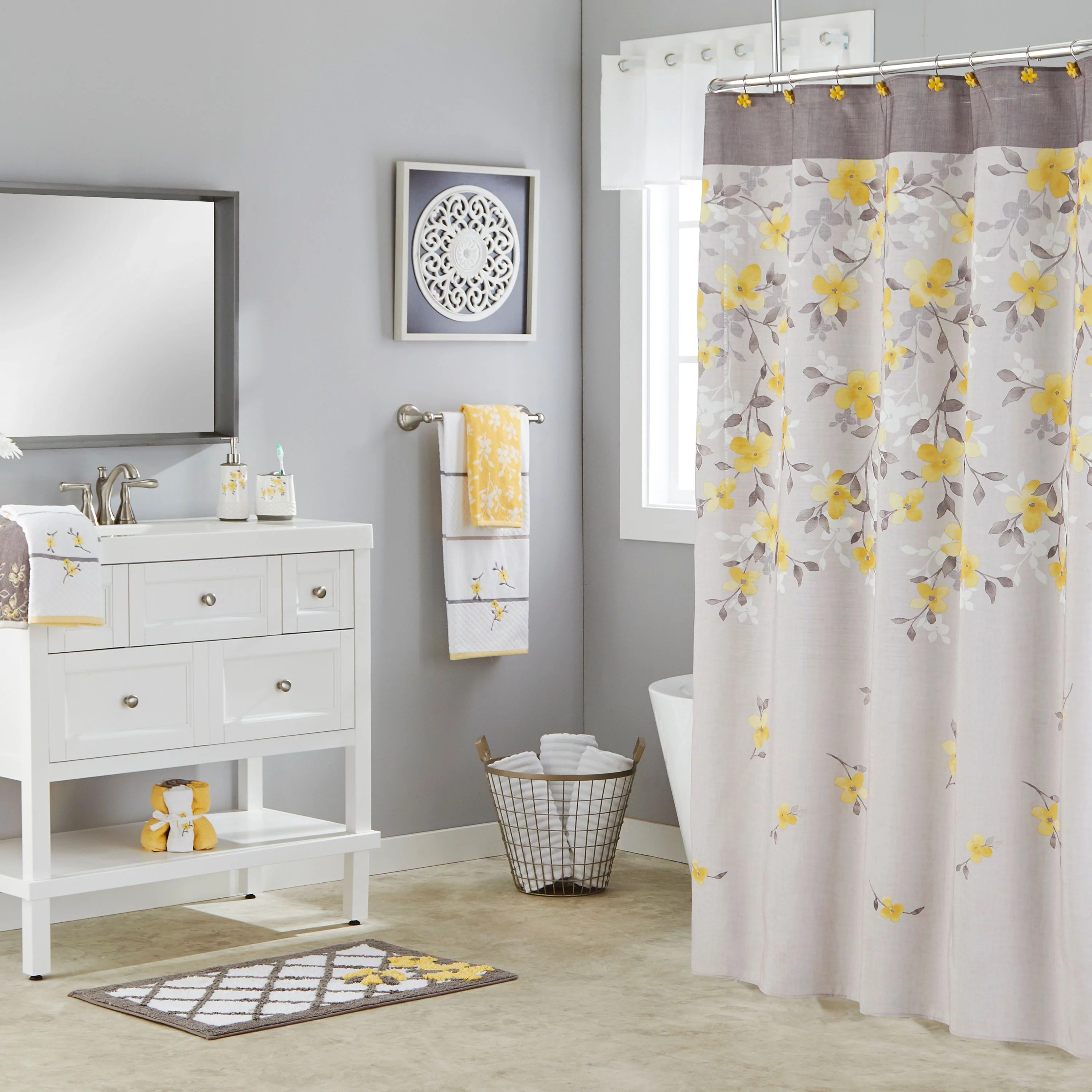 Shower Curtain Sets  Walmartcom