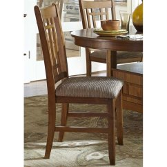 Liberty Dining Chairs Fabric Guest Furniture Santa Rosa Mission Side Chair In Oak Walmart Com