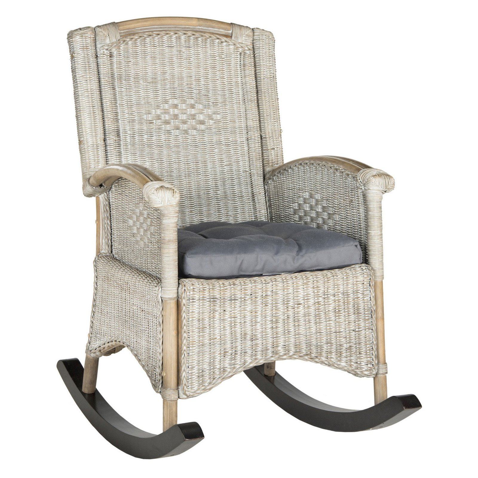 Wicker Rocking Chair Safavieh Verona Rattan Rocking Chair Multiple Colors