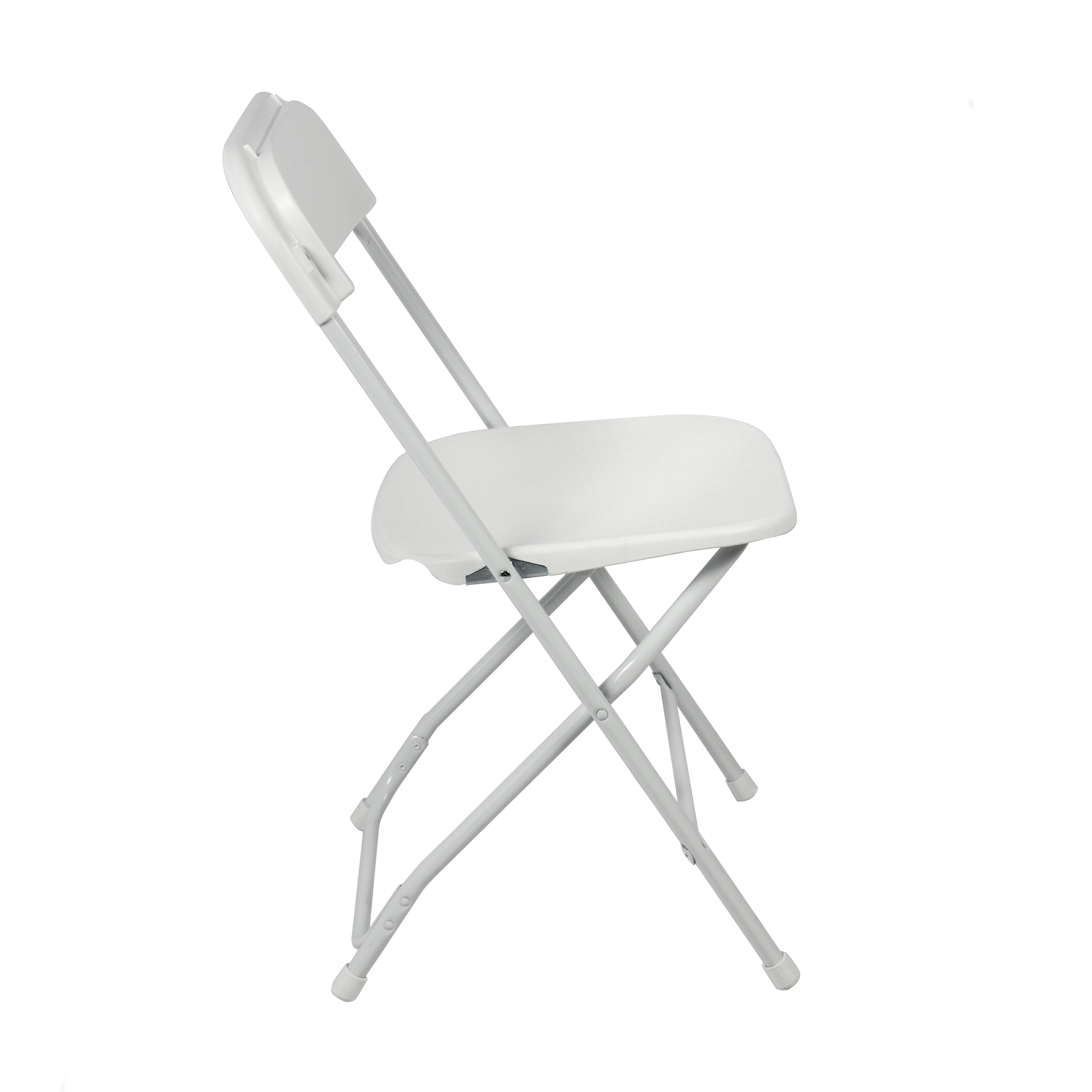 White Stackable Chairs 5 Commercial White Plastic Folding Chairs Stackable Wedding Party Event Chair