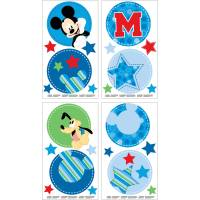 Disney Mickey Mouse Wall Decals - Walmart.com