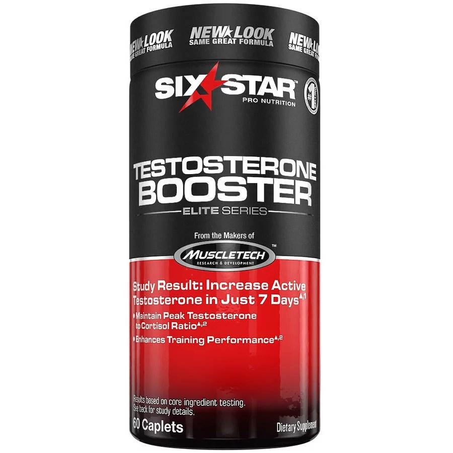 Six Star Testosterone Booster Supplement for Men Enhances ...