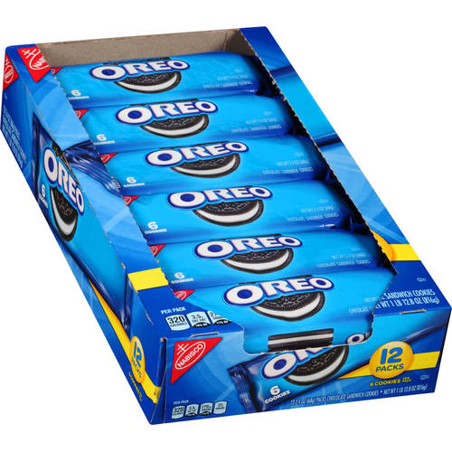 Nabisco Oreo Chocolate Sandwich Cookies 24 Oz 12 Count