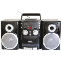 Naxa NPB426 Portable CD Player with AM/FM Radio, Cassette ...
