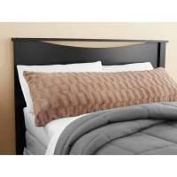 Mainstays Tan Bamboo Fur Body Pillow Cover - Walmart.com
