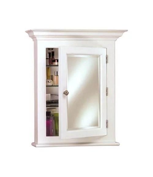 Wood Medicine Cabinet Small  White  Walmartcom