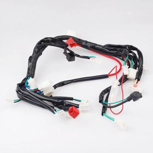 small resolution of 4 wheeler electrics wiring harness for taotao coolster zongshen 50cc 70cc 90cc 110cc atv utv quad walmart com