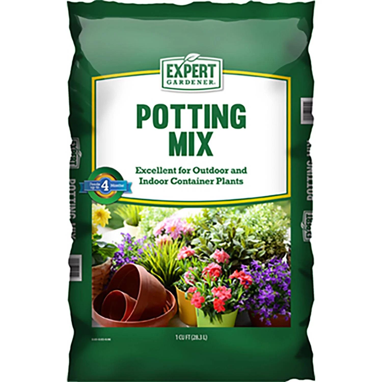 Expert Gardener Potting Mix Potting Soil, 1 Cubic Foot
