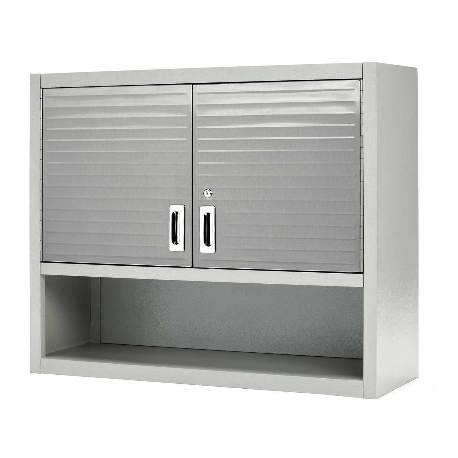Seville Classics UltraHD Wall Cabinet with Open Shelf