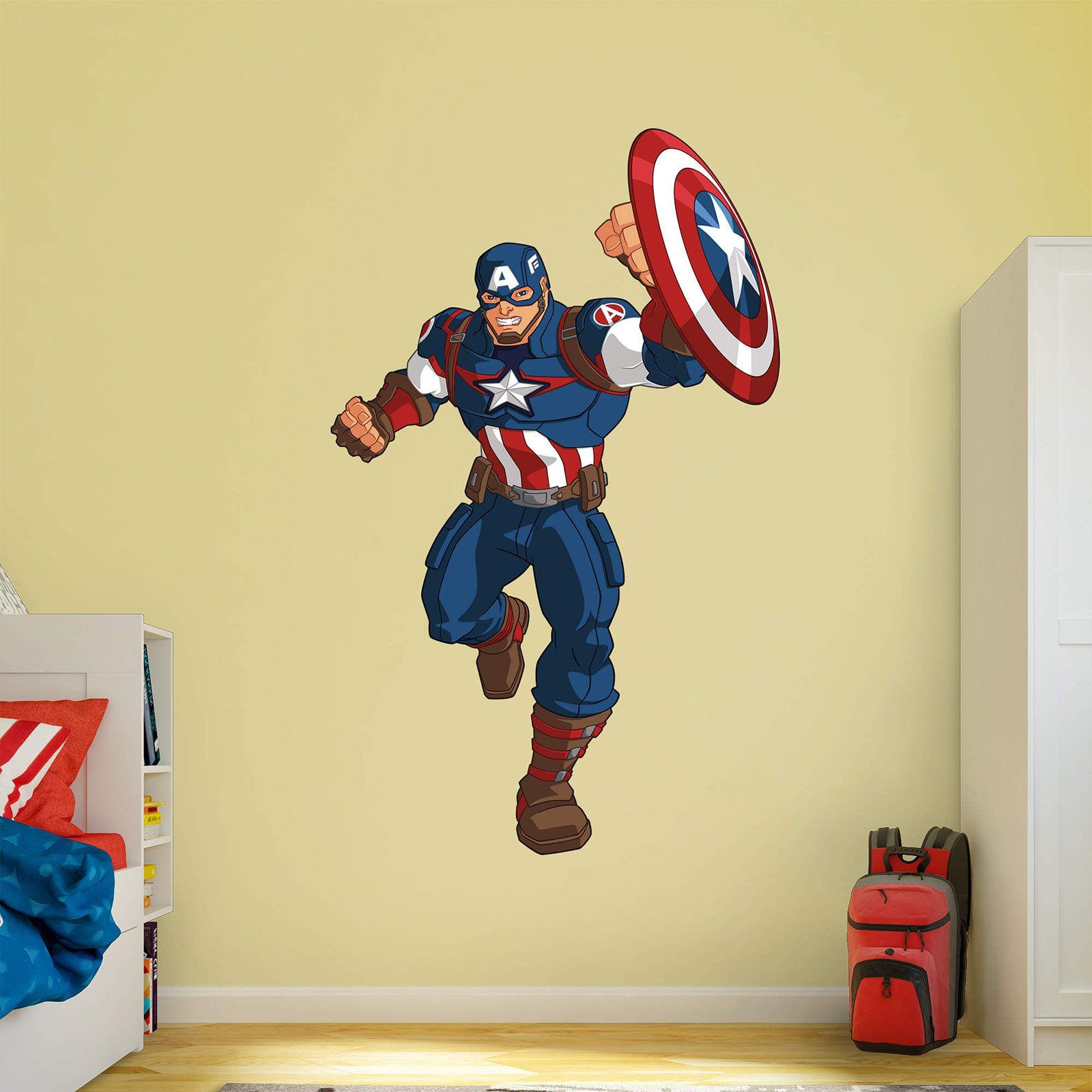 Superhero Wall Decals Avengers Super Hero Iron Man Wall Stickers ...