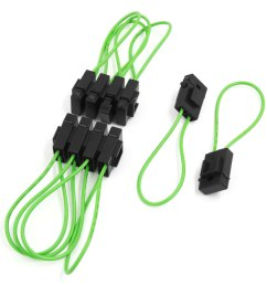 10pcs universal plastic wiring fuse holder box block for motorcycle car [ 1100 x 1100 Pixel ]