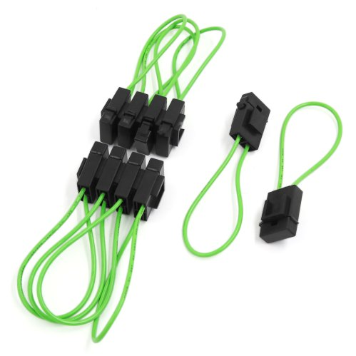 small resolution of 10pcs universal plastic wiring fuse holder box block for motorcycle car