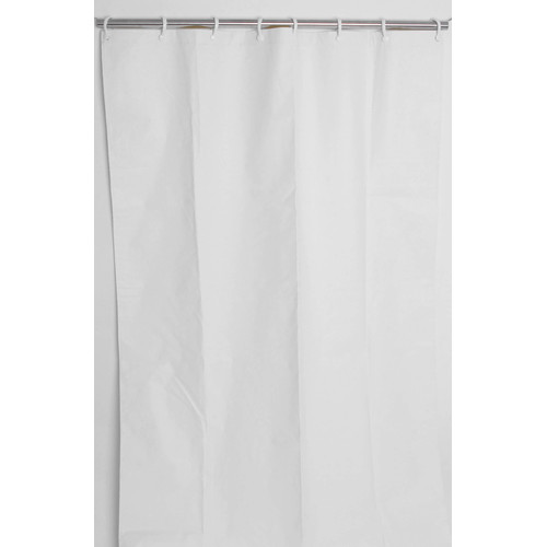 csi bathware assure vinyl 3 layer commercial single shower curtain