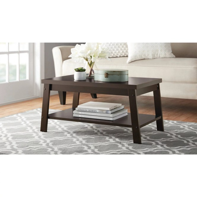 Details About Contemporary Living Room Coffee Table Furniture Modern Home Apartment Wood New