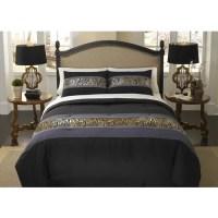 Divatex Home Fashions Metallic Printed Bling Bedding ...