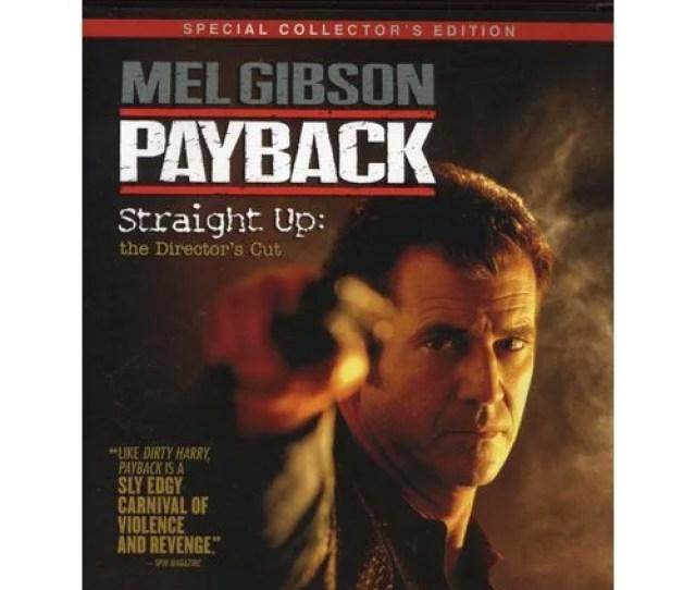 Payback Straight Up Hd Dvd Directors Cut Special Collectors Edition Walmart Com