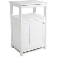 Telephone Stand/Bathroom Cabinet, White - Walmart.com