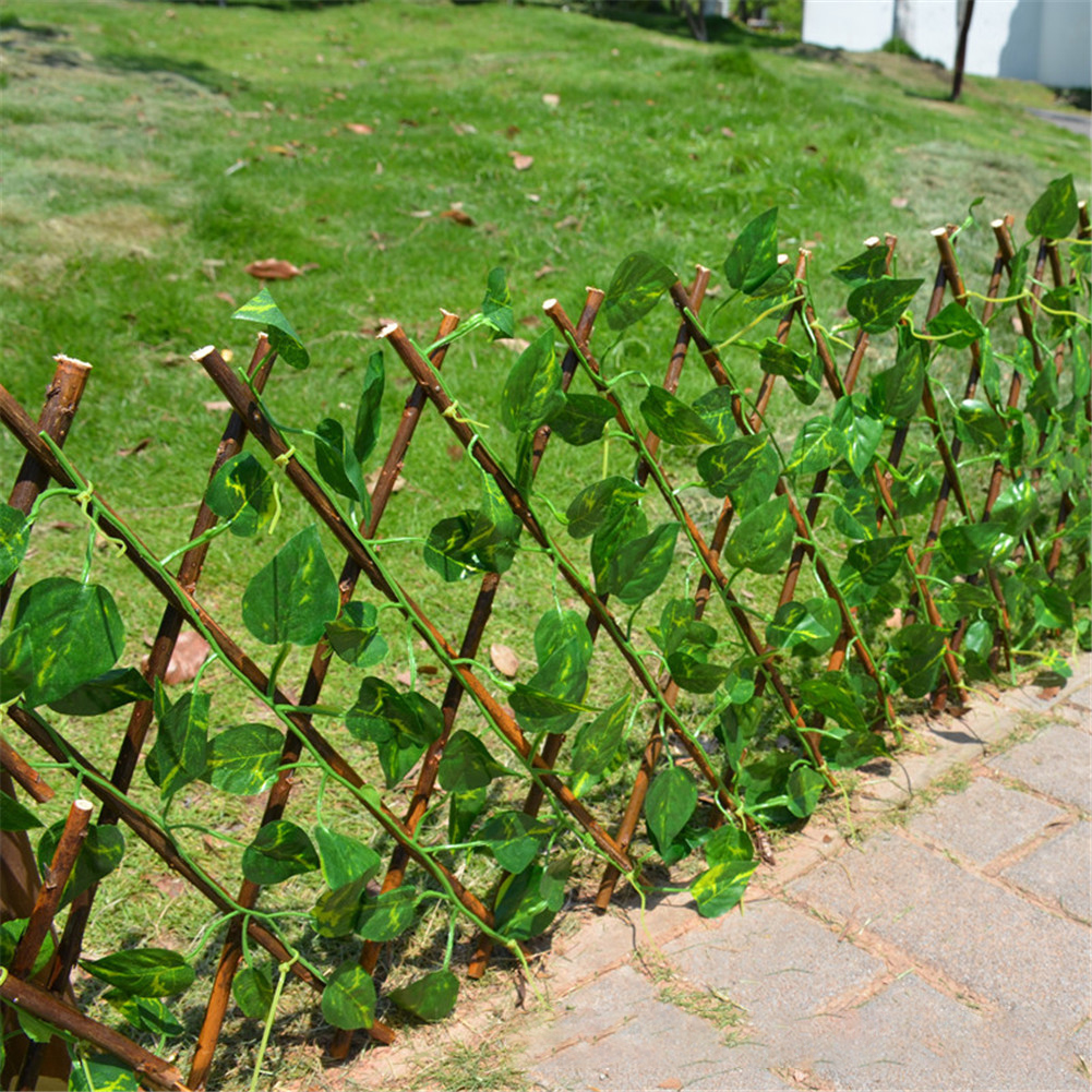 Artificial Garden Plant Fence Uv Protected Privacy Screen Outdoor Indoor Use Garden Fence Backyard Home Decor Greenery Walls Walmart Canada