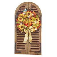 Autumn Window Lighted Canvas Wall Decor - Walmart.com