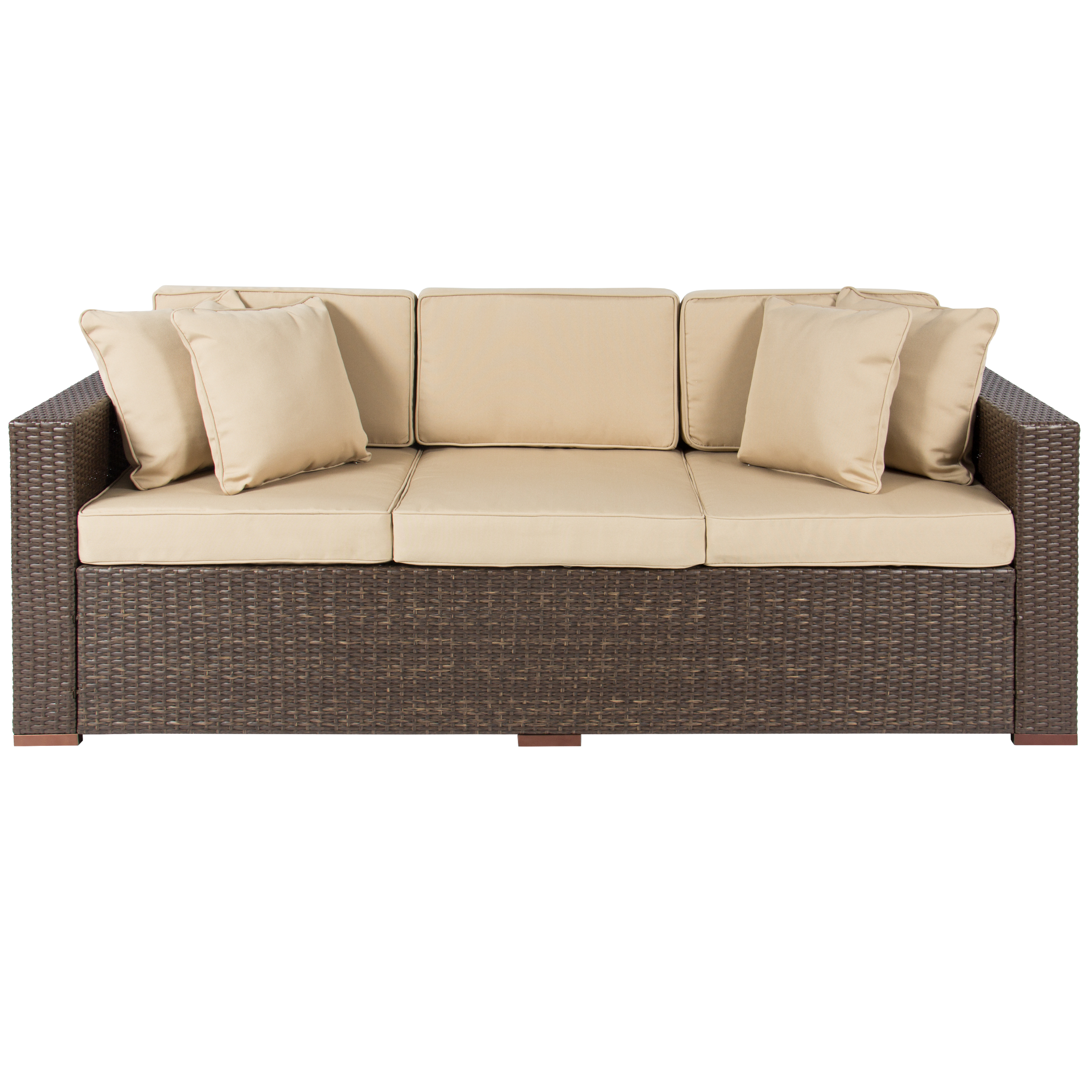 rattan outdoor sofa slipcover australia 3 seat patio better homes and gardens azalea ridge