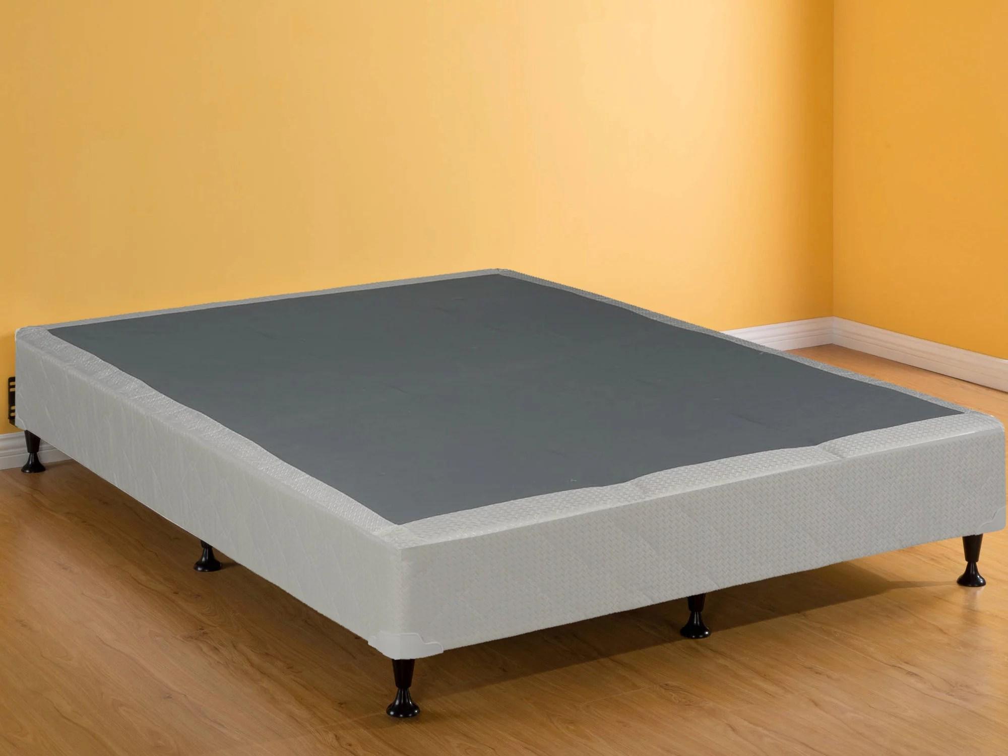 continental mattress 8 box spring foundation for mattress full size walmart com