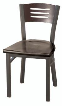 Wood Leg White Bucket Seat Dining Arm Chair - Walmart.com