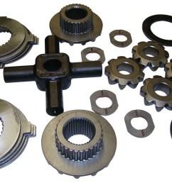 qu40430 dana 80 trac lok dana inner differential parts overhaul kit walmart com [ 1200 x 729 Pixel ]