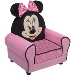 Minnie Mouse Chair Walmart Evac Canada Disney Figural Upholstered Com