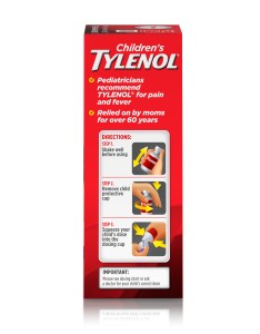 Children   tylenol oral suspension fever reducer and pain reliever grape fl oz walmart also rh