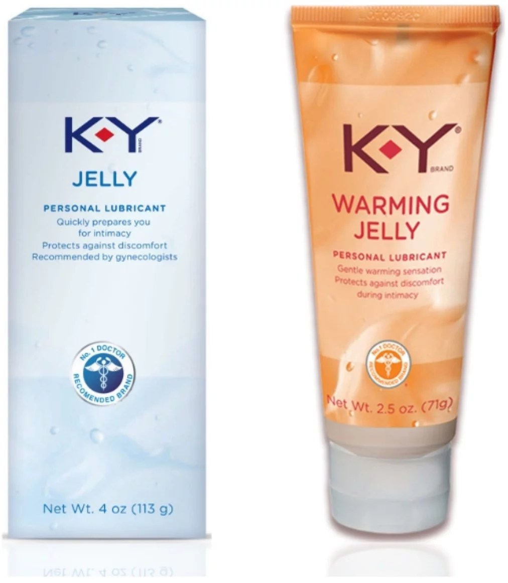 K-Y Pleasure Kit With Jelly Personal Lube (4 oz) & Warming ...