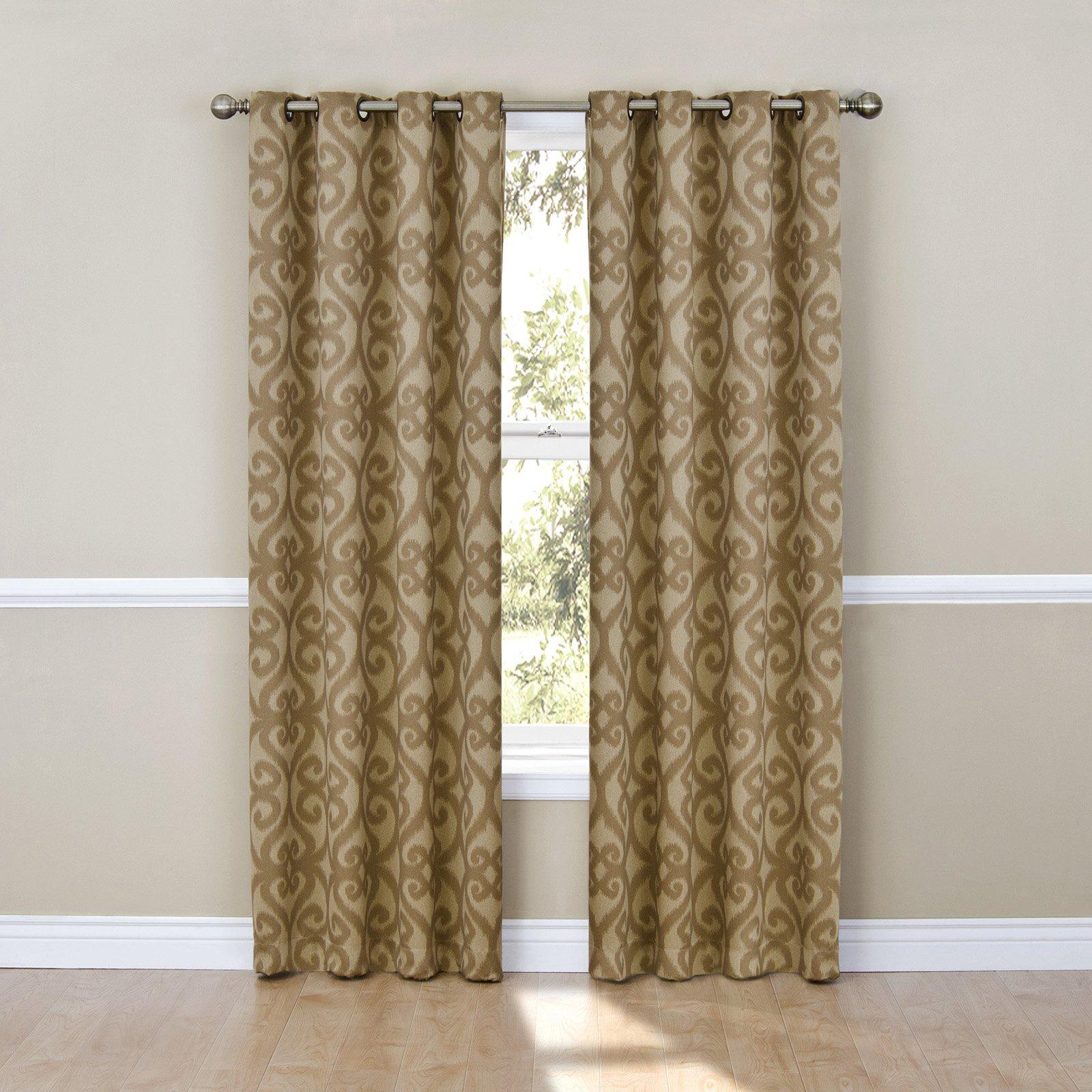 Eclipse Patricia Blackout Grommet Curtain Panel Walmart Com
